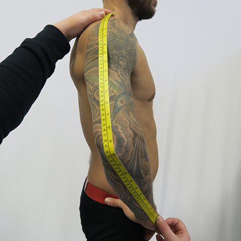 Measurements – Vertical Suits